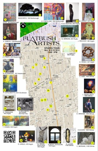 flatbushartists2016map